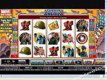 ókeypis spilakassar leikir Captain America CryptoLogic