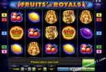 ókeypis spilakassar leikir Fruits and Royals Novomatic